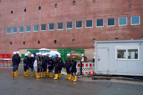 Elbphilharmonie, Baustellenführung, Hamburg